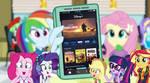 Rainbow Dash shows her friends Disney+