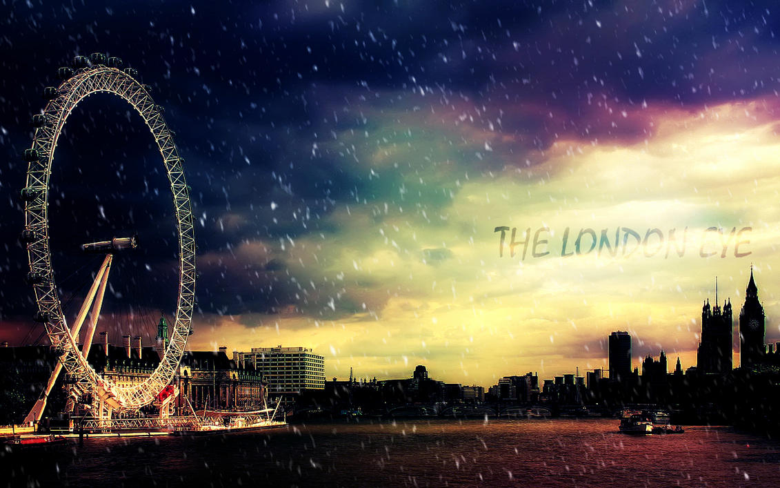 the london eye wallpaperayashigirl on deviantart