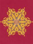 Complex Lai Thai Star ornament