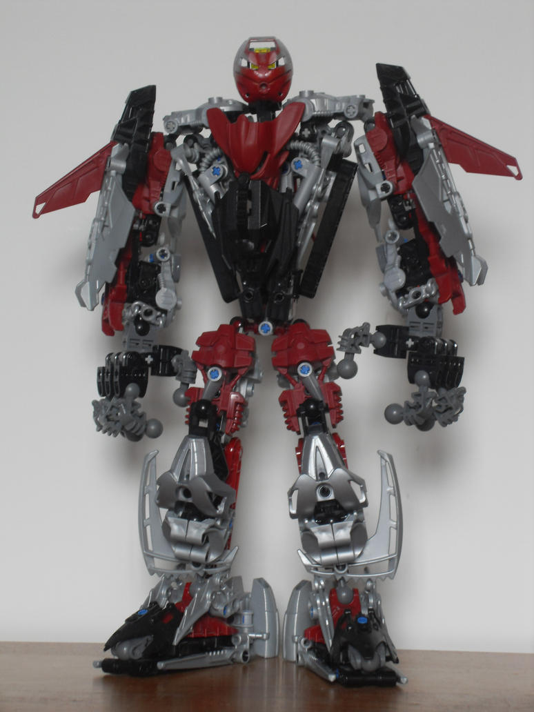 Bionicle MOC: Iadrac v3.4 by The-Land-Shark