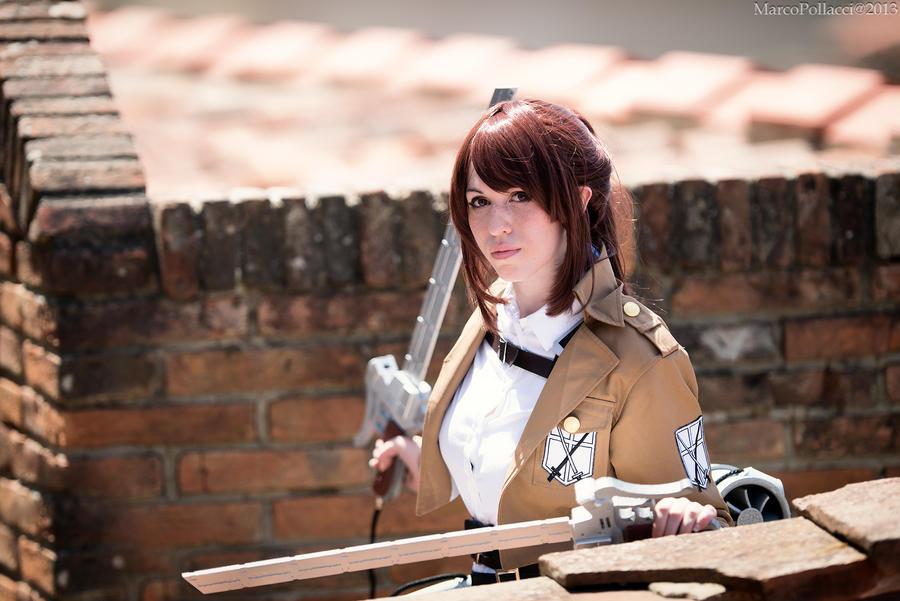 Sasha Braus - Shingeki no Kyojin by Marco-Photo
