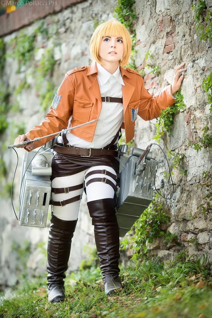 Armin - Shingeki no Kyojin by Marco-Photo