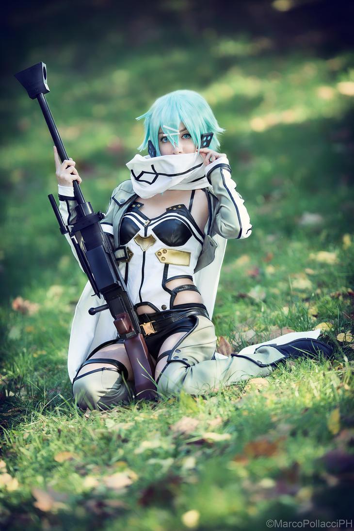 Sword Art Online - Sinon by Marco-Photo