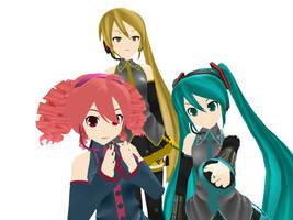 MMD Newcomer _ Nakao Teto and Neru by Tdrawer3130
