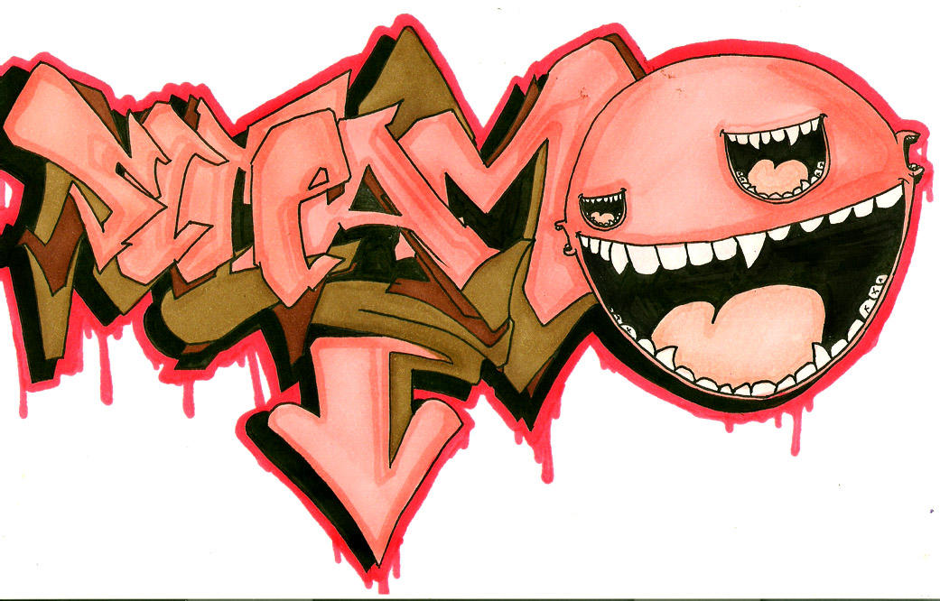 SCREAMO battle sketch by PorkHunt
