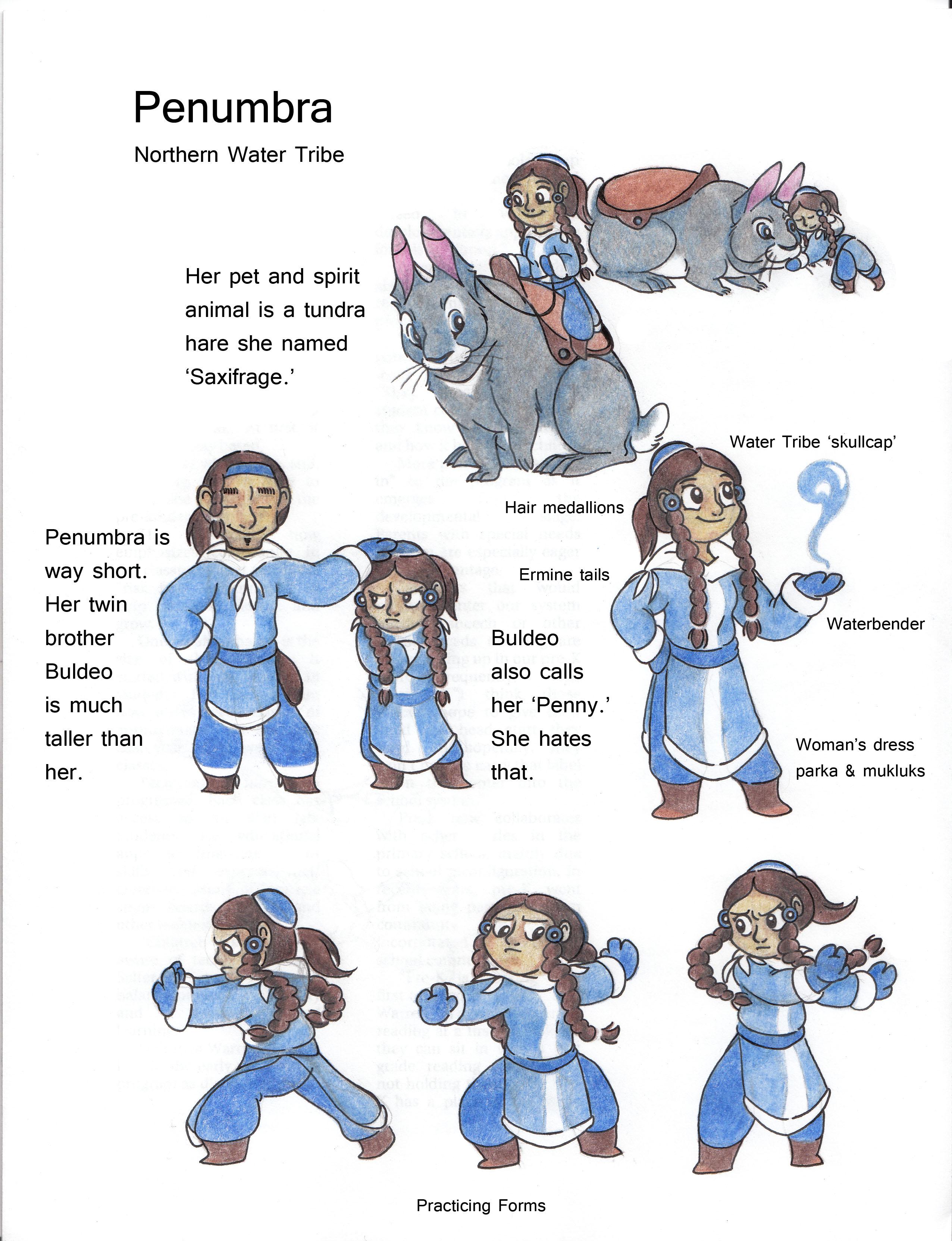 Avatar TLA OC Penumbra by Dead-Raccoons