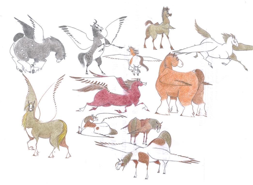 Pegasus by Dead-Raccoons