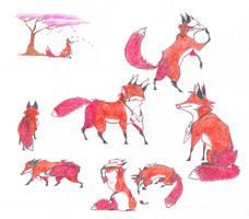 Honshu Fox by Dead-Raccoons