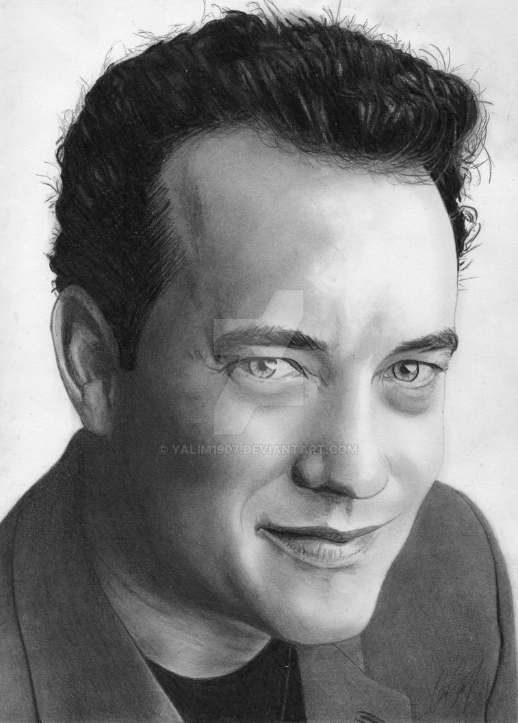 Tom Hanks by YALIM1907