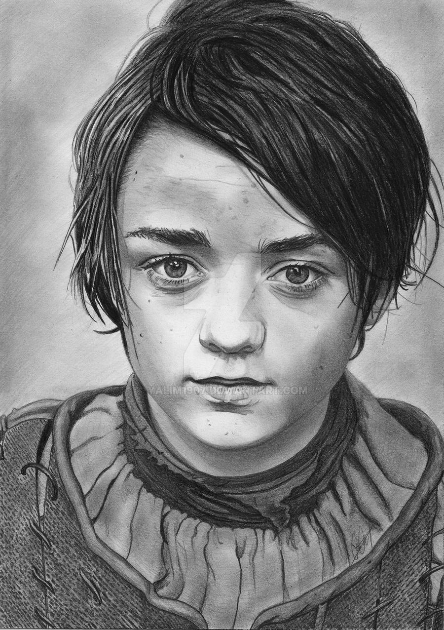 Arya Stark by YALIM1907