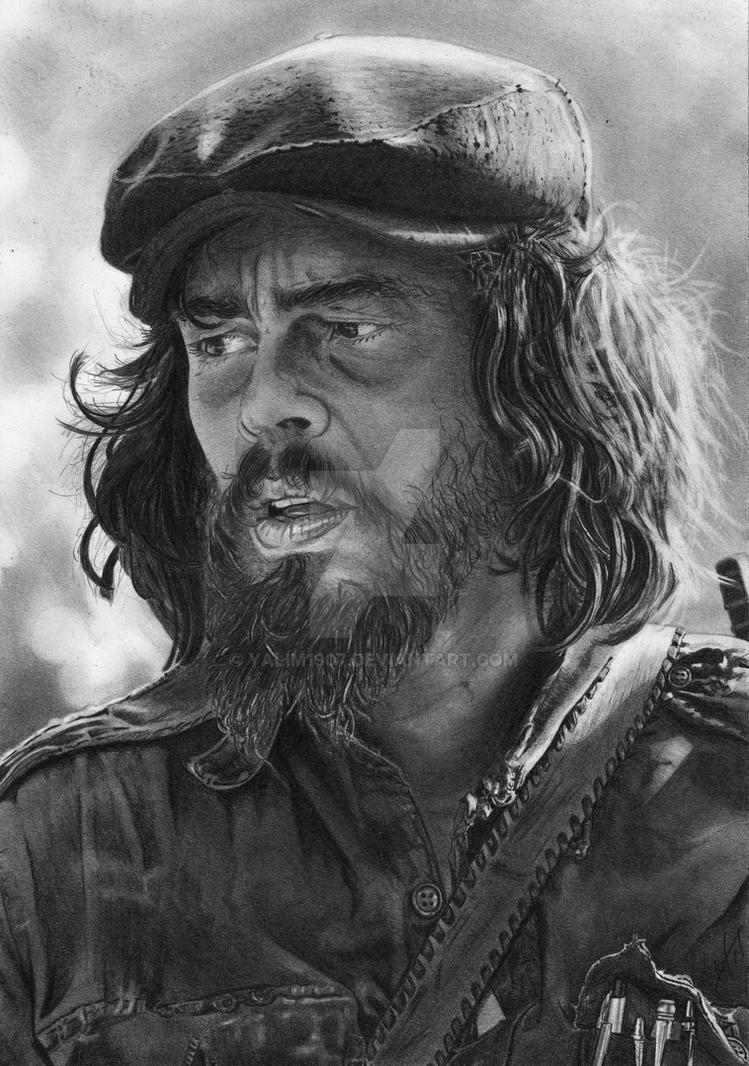 Benicio del Toro as Ernesto Che Guevara by YALIM1907