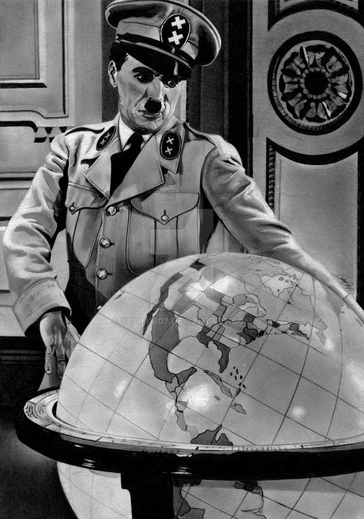Charlie Chaplin as The Great Dictator by YALIM1907