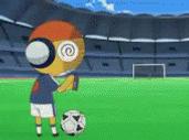 Kululu Kicks A Soccer Ball by Noulin123