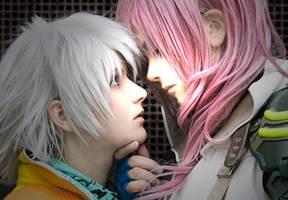 HOPE x LIGHTNING - Cosplay by Shinkan-Seto
