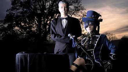 CIEL PHANTOMHIVE - Cosplay - Old Butler Tanaka