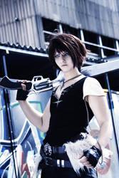 SQUALL LEONHART - Cosplay - ready to fight by Shinkan-Seto