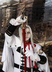 Ferid Bathory - Cosplay - Destroyed Town by Shinkan-Seto
