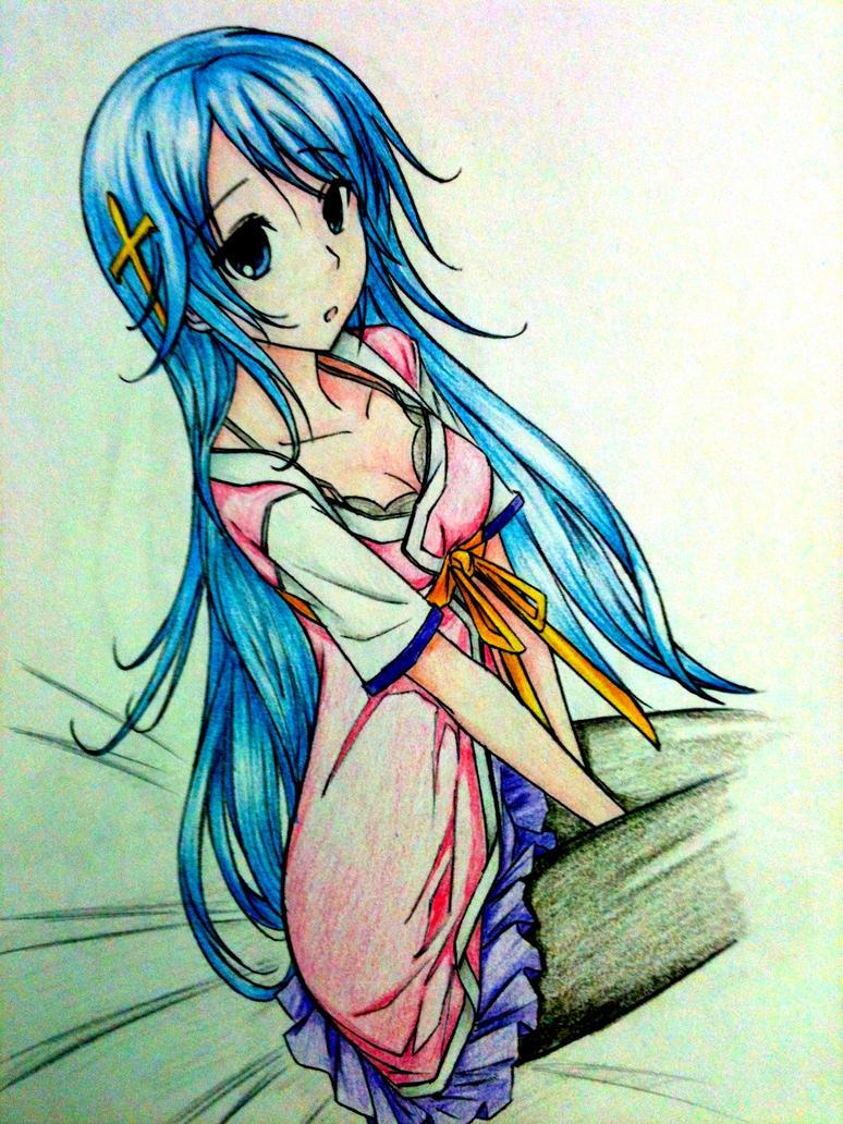 رسومات رائعة Anime_girl_by_ztgong-d4vhuyz