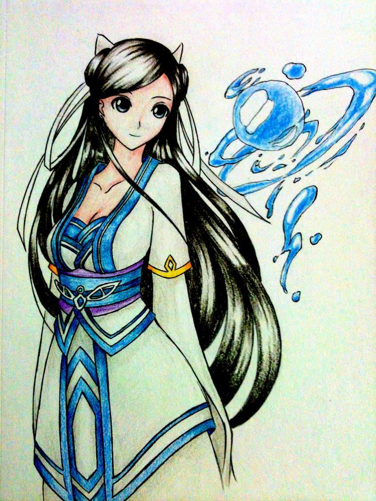 رسومات رائعة Anime_girl_by_ztgong-d574e6v