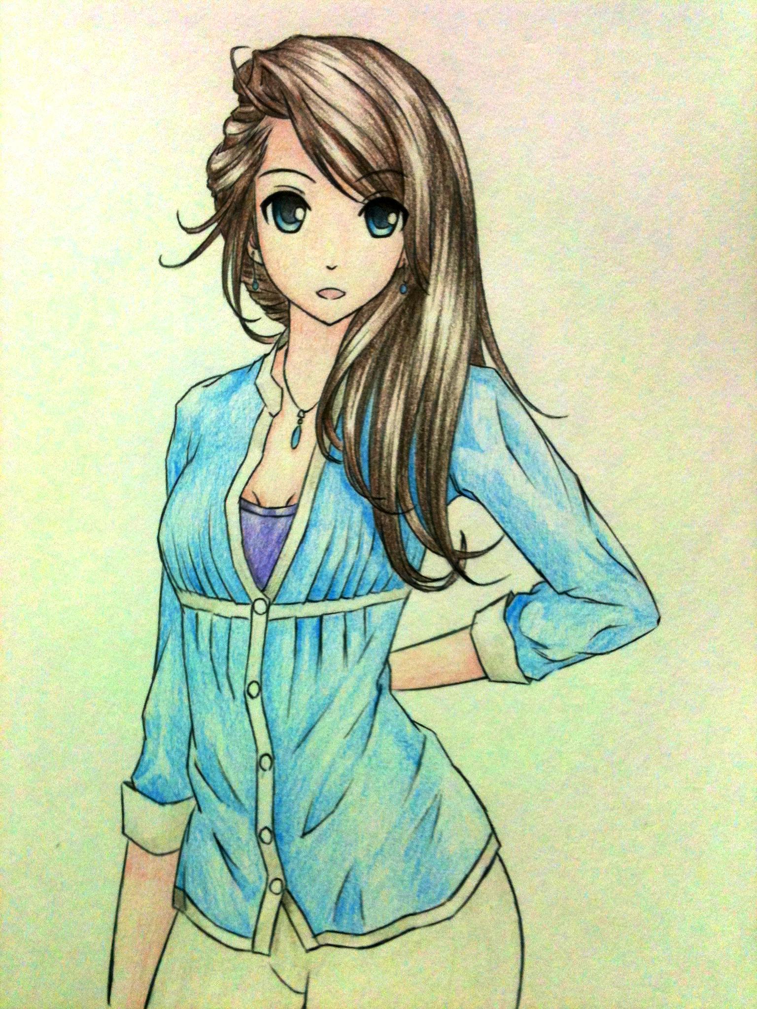 Anime girl - Jessie