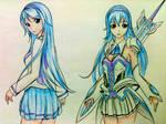 Anime girl - Resona