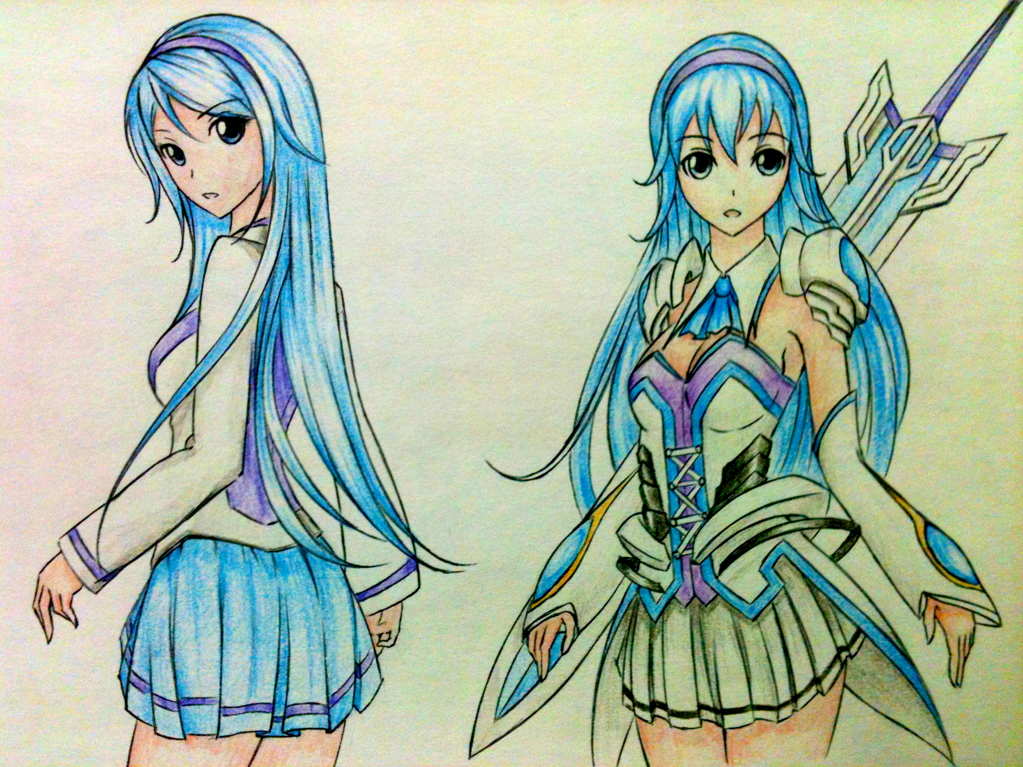 Anime girl - Resona by ztgong