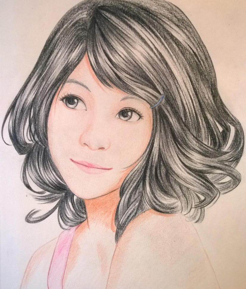 Portrait Practice by ztgong