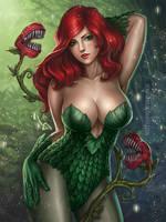Poison Ivy by denn18art