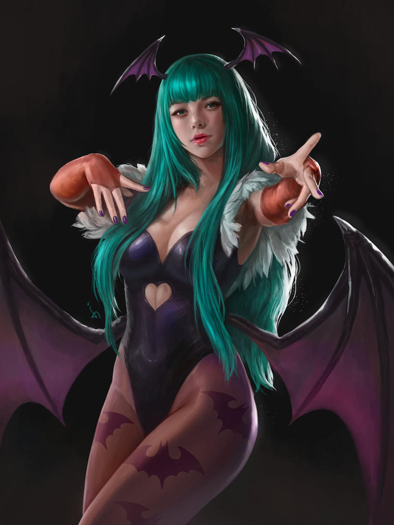 Morrigan by denn18art