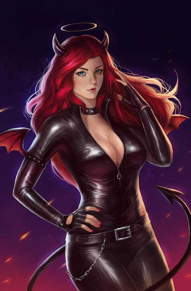 Commission: Bad Lady by denn18art