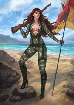 Army Girl OC