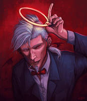 Saint from Hell. by vexnir