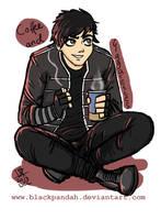 Gerard a la Black Parade Outfit by BlackPandah