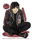 Gerard a la Black Parade Outfit
