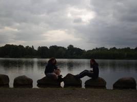 Sitting stones by pikku-hiiri