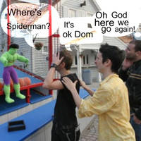 Where is spiderman by MuseLover5
