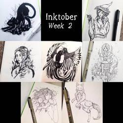Inktober: Week 2