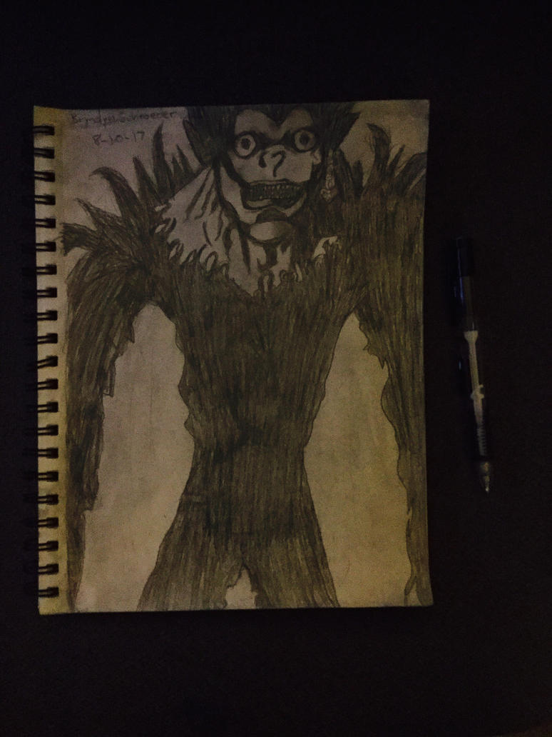 Ryuk - Death Note Filtered by ScabOfTriton