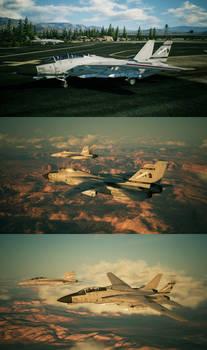 F-14D VF-402 SH205 'Spare 14'