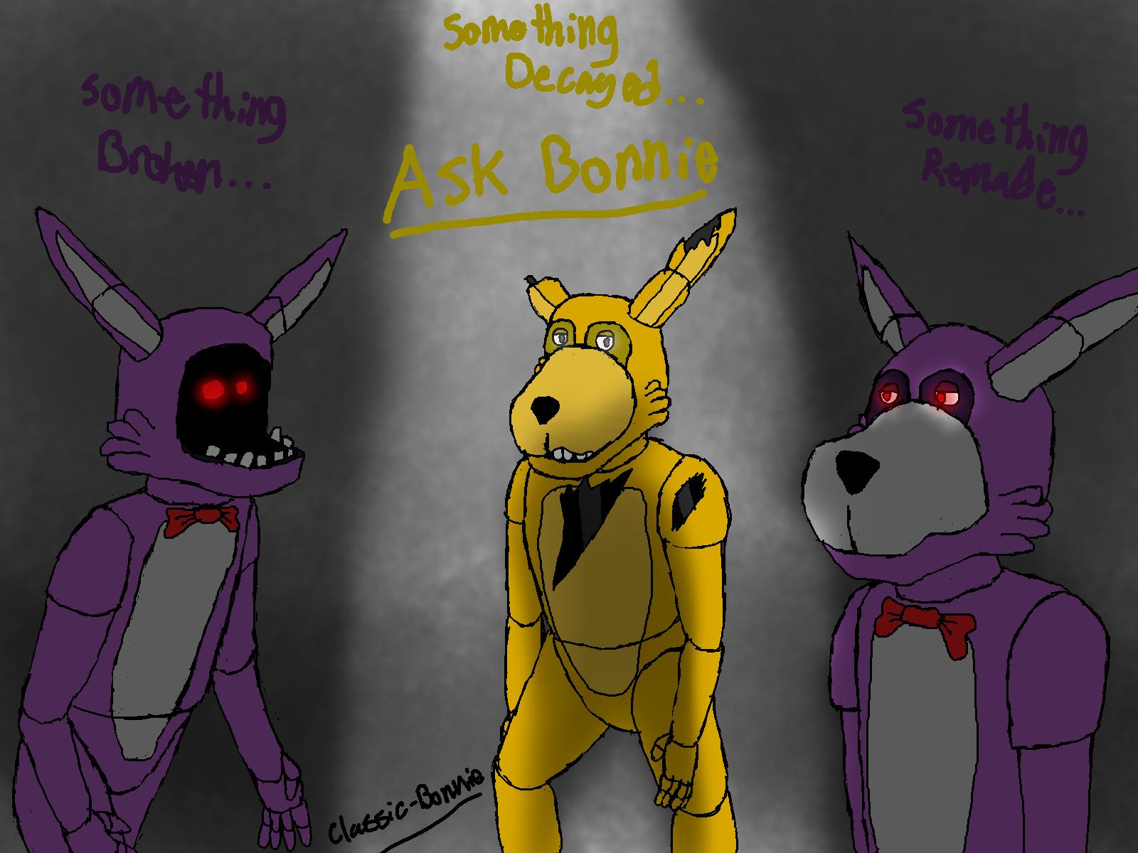 Ask Bonnie! By Classic-Bonnie On DeviantArt