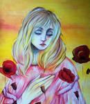 Girl in poppys (Bebe in poppies)