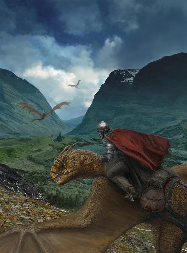 Dragon Valley by GarySWilkinson