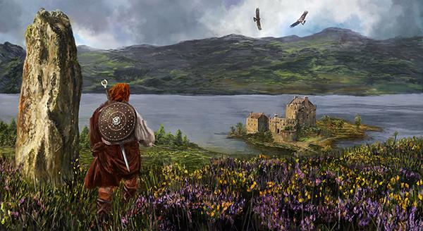 The Warrior Returns by GarySWilkinson