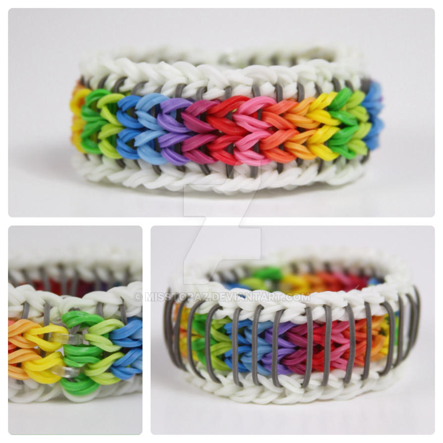 Sailor Pinstripe Rainbow Loom Over the Rainbow by ...