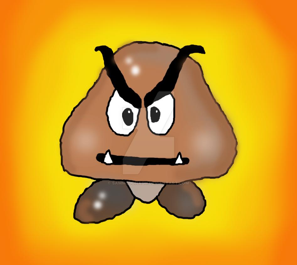 Mario Brown Mushroom By Sammcdonagh On Deviantart