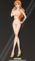 Nami (One Piece) by OryonOnilocram