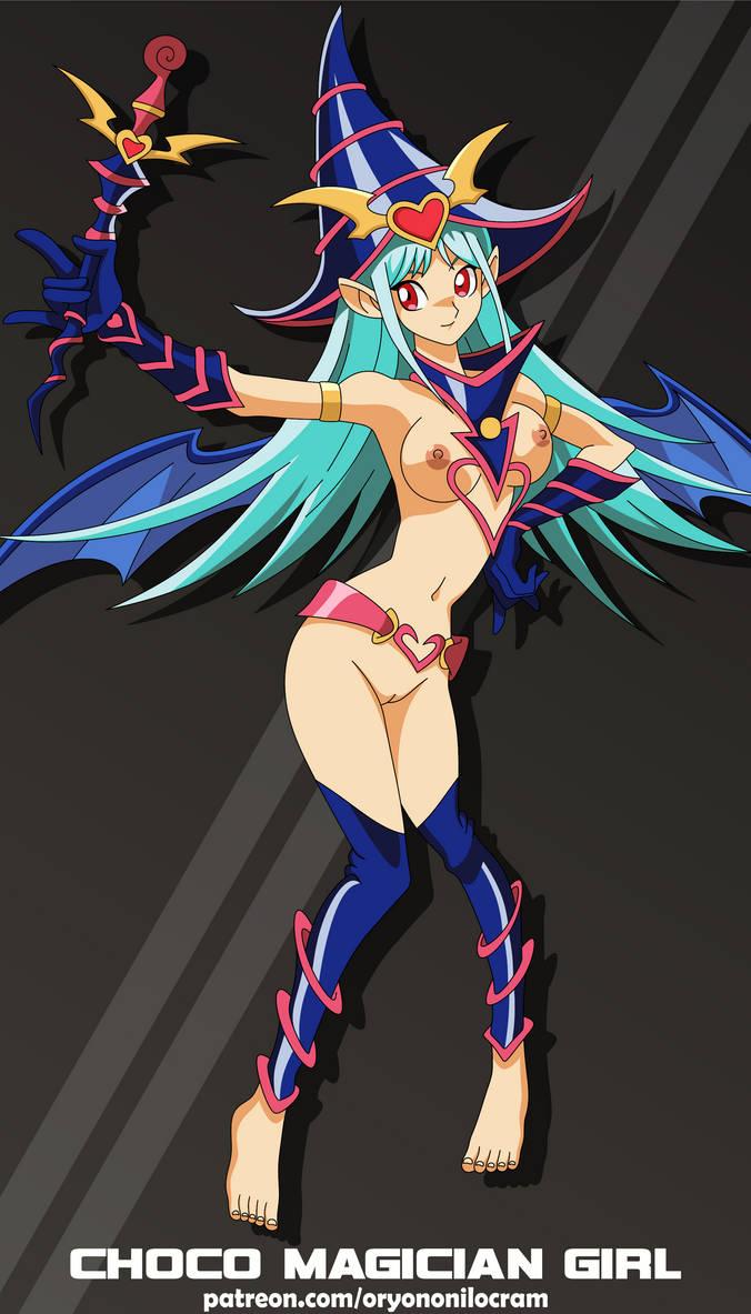 Choco Magician Girl (Yu-Gi-Oh!) by OryonOnilocram