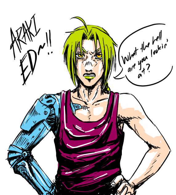 Fullmetal Alchemist Jojo