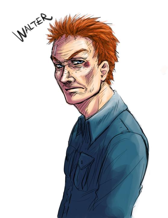 Watchmen - Walter sketch by FerioWind