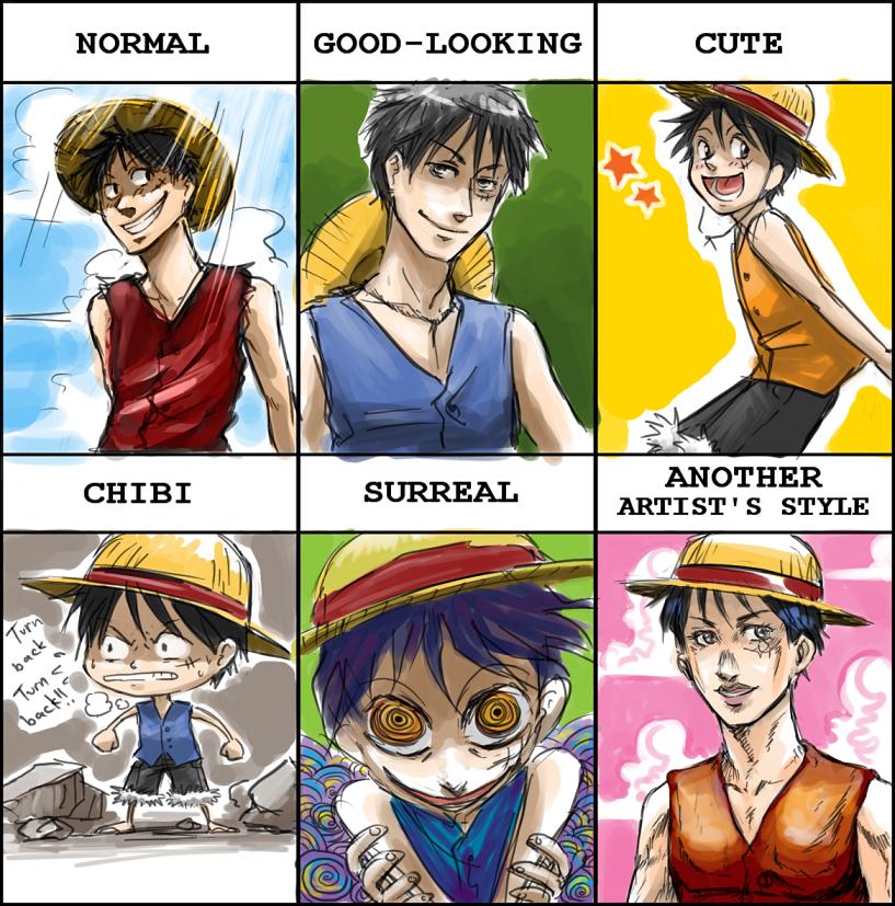 OP - Luffy style meme by FerioWind
